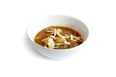 Red curry with meat Royalty Free Stock Photography