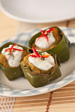 red curry pudding Royalty Free Stock Photos