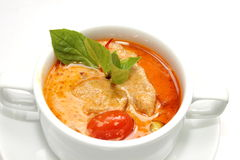 Red Curry with Roasted Duck Stock Photography