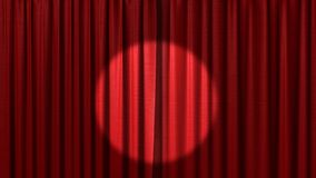 Free Red Curtain Royalty Free Stock Photography - 14096417