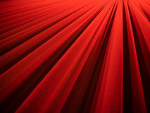Red curtain. Beautiful red curtain at a movie theater - nice background Royalty Free Stock Photo