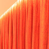 Red curtain Royalty Free Stock Image