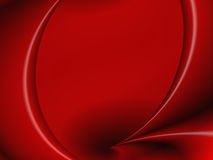 Red Curtain. Abstract stock illustration