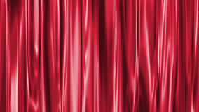 Red curtain. Background illustration made with computer software Royalty Free Stock Photography