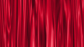 Red curtain. Background illustration made with computer software Stock Photo