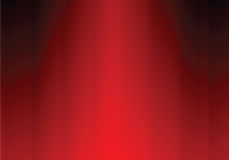 Red curtain. Illustration background Royalty Free Stock Photos