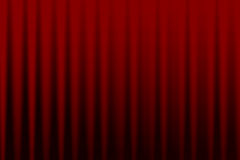 Red curtain background Stock Photo