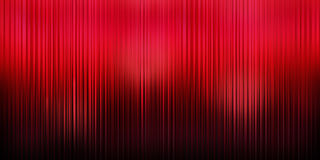 Red Curtain Theater Background stock photo