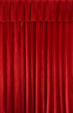 Red curtain background Stock Images