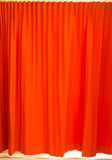 Red curtain background Royalty Free Stock Images