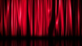 Red curtain background Royalty Free Stock Photos