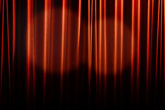 Red curtain background. Royalty Free Stock Images