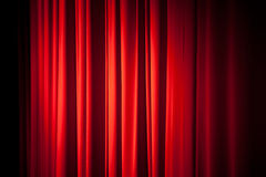 Red curtain background texture Stock Image