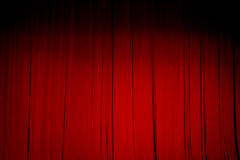 Red curtain backgrounds. Stock Image