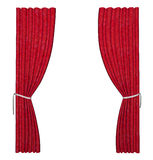 Red curtain Royalty Free Stock Photography