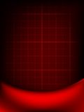 Red curtain fade to dark card. EPS 10 Stock Image