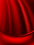 Red curtain fade to dark card. EPS 10 Royalty Free Stock Image