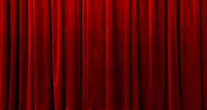 A red curtain Royalty Free Stock Images