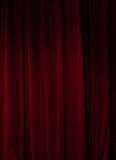 Red curtain  a Stock Photo