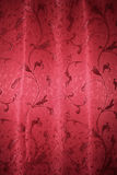 Red curtain pattern Stock Images