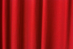 Red curtain texture background Stock Photos