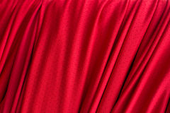 Red curtain texture Royalty Free Stock Images
