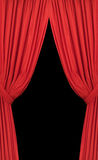 Red Curtains Stock Photos