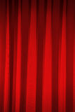 Red curtains in theater Stock Photos