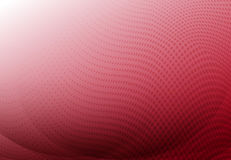 Red curve abstract background with wave halftone copy space. Vector royalty free illustration