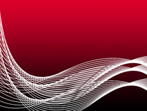 Red Curvy Background Means Abstract Wallpaper Stock Photography