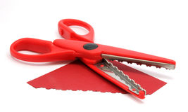 Red Cut Royalty Free Stock Image