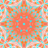 Red-cyan square pattern Stock Image