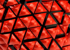 Red 3D background Stock Photography