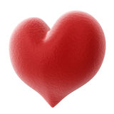 Red 3D heart Royalty Free Stock Photo