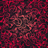 Red damask Royalty Free Stock Photo