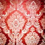 Red damask tapestry Royalty Free Stock Photos