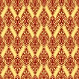 Red damask texture Stock Images