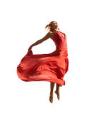 Red dancer Stock Photo