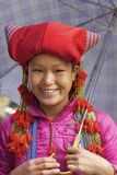 Red Dao Ehtnic Minority People of Vietnam Royalty Free Stock Photos