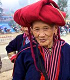 Red Dao Ethnic Minority People of Vietnam Royalty Free Stock Photos