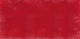 Red dark abstract textured background texture to the point with bright spots of paint. Blank background design banner. stock image