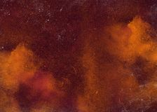 Red dark abstract textured background texture to the point with bright spots of paint. Blank background design banner. stock photos