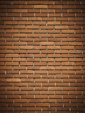 Red dark brick wall. Texture or background Royalty Free Stock Photo