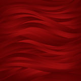 Red dark waves Background. Stock Image