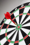 red dart hitting a target Royalty Free Stock Photos