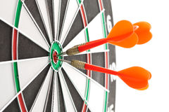 Red Darts Stock Photography