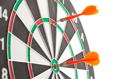 Red Darts Royalty Free Stock Photography