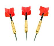 Red darts Stock Photo