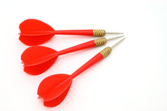 Red darts Royalty Free Stock Photos