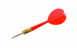 Red darts or red arrow Stock Images